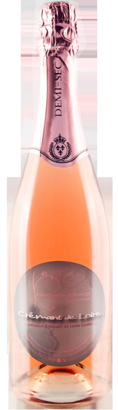 Crémant de Loire rosé demi-sec
